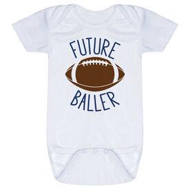 Football Baby One-Piece - Future Baller