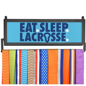 AthletesWALL Medal Display - Eat Sleep Lacrossse Mesh
