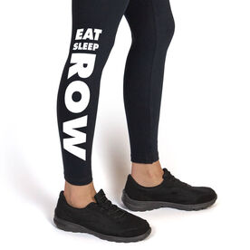 Crew Leggings Eat Sleep Row