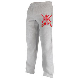 Golf Fleece Sweatpants King of Swing