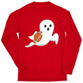 Football Tshirt Long Sleeve - Football Ghost
