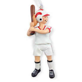 CTS - Softball Player Resin Figure Ornament (Blonde)