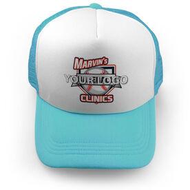 Baseball Trucker Hat Your Logo