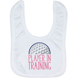 Golf Baby Bib - Player In Training