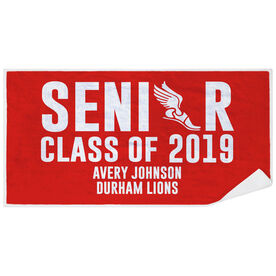 Cross Country Premium Beach Towel - Personalized Senior Class Of