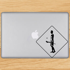 Lax Crossing Removable ChalkTalkGraphix Laptop Decal