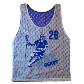 Guys Lacrosse Pinnie - Personalized Lax Beast