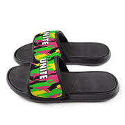Personalized Repwell® Slide Sandals - Camouflage