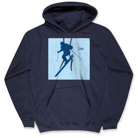 Skiing Standard Sweatshirt - iSki