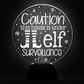 Acrylic LED Lamp - Elf Surveillance