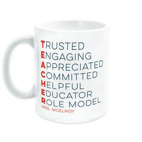 Teacher Coffee Mug - Teacher Words
