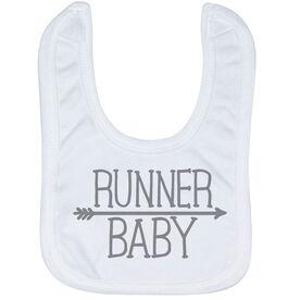 Running Baby Bib - Runner Baby