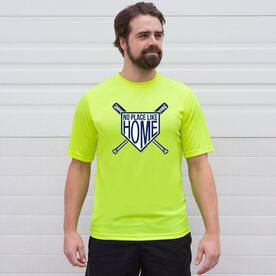 Baseball Short Sleeve Performance Tee - No Place Like Home