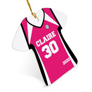 Volleyball Ornament - Personalized Jersey