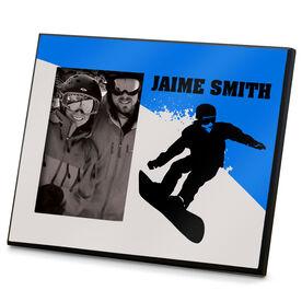 Snowboarding Photo Frame Silo Snowboard