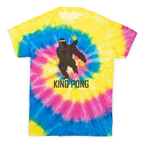 Ping Pong Short Sleeve T-Shirt - King Pong Tie Dye