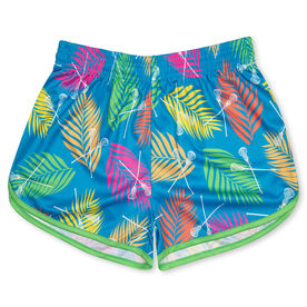 Tropical Palm Lacrosse Shorts