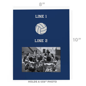 Volleyball Photo Frame - Team
