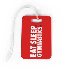 Gymnastics Bag/Luggage Tag - Eat Sleep Gymnastics