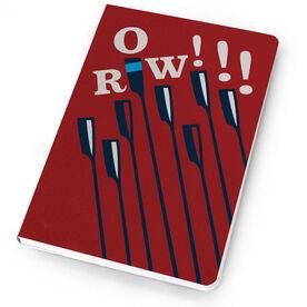 Crew Notebook ROW team oars