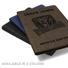 Personalized Executive Portfolio - Coach Name Logo Team Name