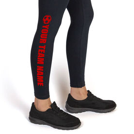 Soccer Leggings Team Name
