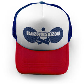 Ping Pong Trucker Hat - Crest