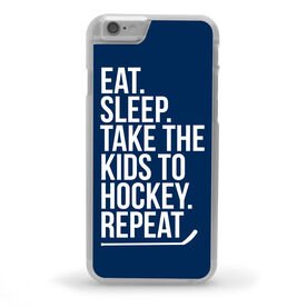 Hockey iPhone® Case - Eat Sleep Take The Kids to Hockey