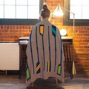 Crew Premium Blanket - Blanket Oar Pattern Colorful