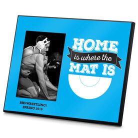 Wrestling Photo Frame Home Is Where The Mat Is
