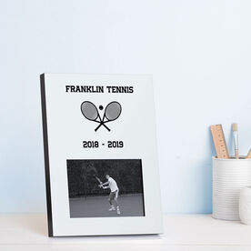 Tennis Photo Frame - Team