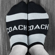 Socrates® Woven Performance Sock - Coach