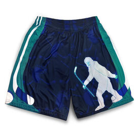 Abominable Snowman Hockey Shorts