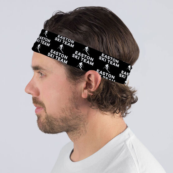 Skiing Multifunctional Headwear - Custom Team Name Repeat RokBAND