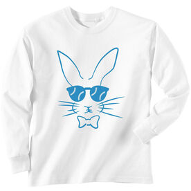 Baseball Tshirt Long Sleeve Hopster Baseball Bunny
