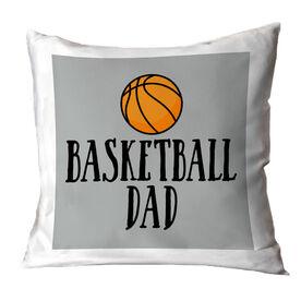 Basketball Throw Pillow - Basketball Dad