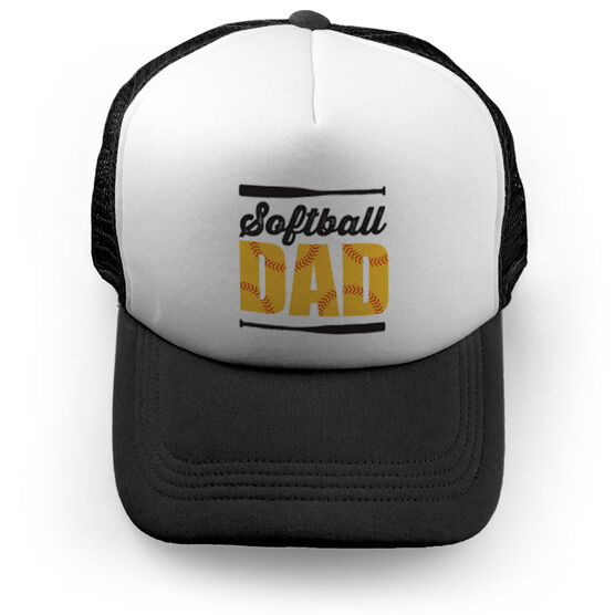 Softball Trucker Hat Dad