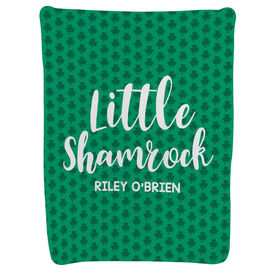 Personalized Baby Blanket - Little Shamrock