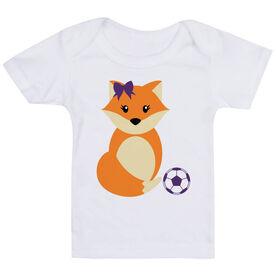 Soccer Baby T-Shirt - Soccer Fox