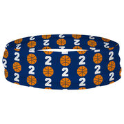 Basketball Multifunctional Headwear - Custom Team Number Repeat RokBAND