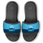 Field Hockey Repwell® Sandal Straps - Team Name Colorblock