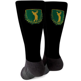 Golf Printed Mid-Calf Socks - Your Logo