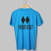 Skiing & Snowboarding Short Sleeve T-Shirt - I'm Difficult