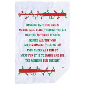Baseball Premium Blanket - Jingle All The Way