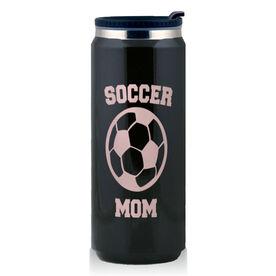 Stainless Steel Travel Mug Soccer Mom
