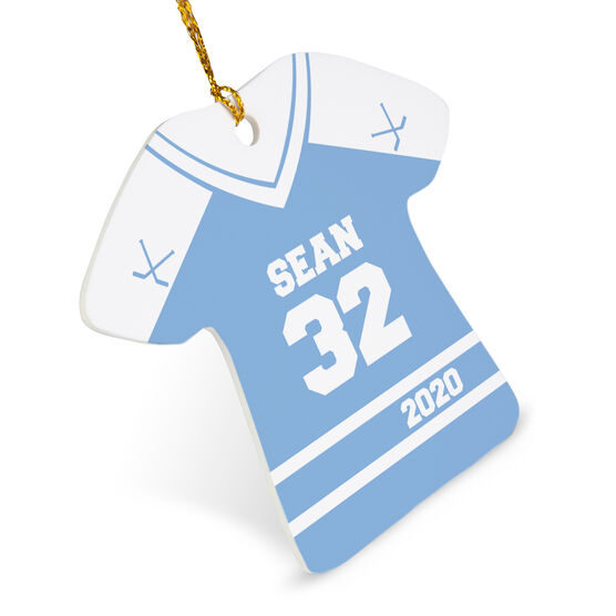Hockey Ornament - Personalized Jersey