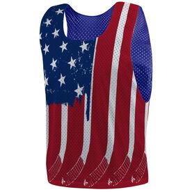Hockey Pinnie - USA Hockey Flag
