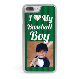Baseball iPhone® Case - I Love My Baseball Boy(s)