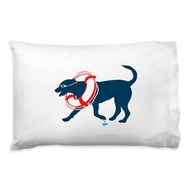 Swimming Pillowcase - Finn The Swim Dog