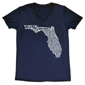 Women's Running Short Sleeve Tech Tee Florida State Runner
